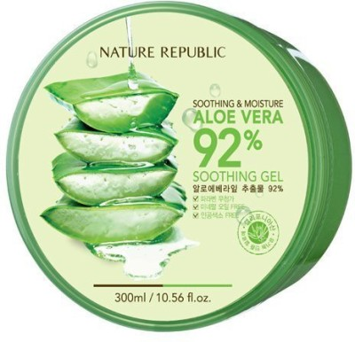 Nature Republic Aloe Vera Gel, 300ml, 10.56 Fluid Ounce(300 ml)