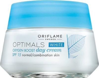 Oriflame Sweden Optimals White Oxygen Boost Cream SPF 15(50 ml)  available at flipkart for Rs.699