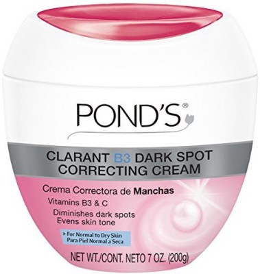 Ponds clarant b3 dark spot correcting cream, normal to dry skin, 7 ounce (pack of 2)(210 ml)