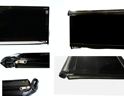 ADITYA 20 INCH LED COVER for 20 inch LED TV  - TRANSPARENT COVER(Black)