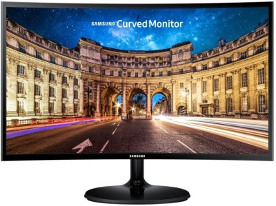 Samsung 26.5 inch Curved Full HD LED Backlit VA Panel Monitor (LC27F390FHWXXL)