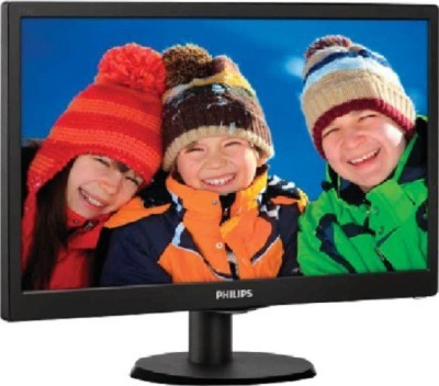 Philips 18.5 inch HD LED - 193V5LSB23  Monitor(Black)