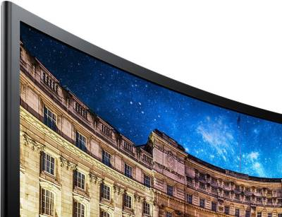 SAMSUNG 23.54 inch LED Backlit - LC24F390FHWXXL  Monitor