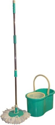 A To Z Sales Magic Plastic Spin Bucket Mop Set A To Z Sales Home Cleaning Sets