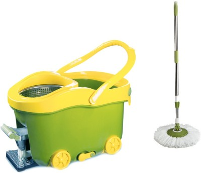 Easy to Clean Pedal Mop Set at flipkart