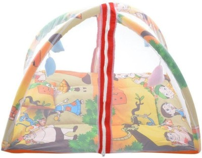 Chhote Janab BABY PLAY GYM WITH MOSQUITO NET(Multicolor) at flipkart