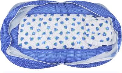 Ole Baby Nylon Infants Jumbo Reversible 2 In 1 Little Strawberry Mosquito Net(Multicolor) at flipkart