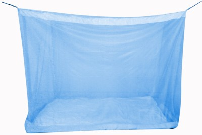 Elegant Special Polyester Mosquito Net provides total insect protection. It maintains proper air circulation. This fabric is very soft in nature and it is an easy care, machine washable and 100% Infants 5x6.5 Feet Special Polyster Mid Size Bed Mosquito Net(Blue)