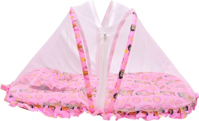 Chhota Bheem Nylon Infants Baby Sleeping Bag,Bed For Just Born baby. Mosquito Net(Pink)