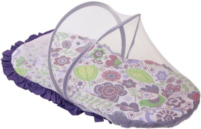 Bacati Kids Botanical Mosquito Net(Multicolor)