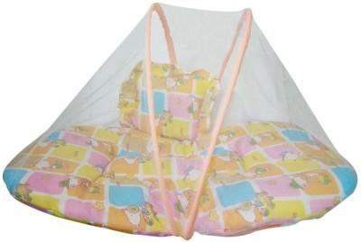 a04bb39cf10 Chhote Janab Nylon Infants BABY COTTON PADDED Mosquito Net(Yellow)