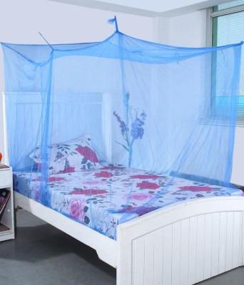 Ans Nylon Infants Plain Single Bed Mosquito Net(Blue)  available at flipkart for Rs.319