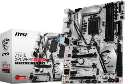 MSI Z170a X Power Gaming Titanium Edition Motherboard(Black)