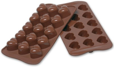 Cool Trends Silicon Chocolate - Heart 15 - Cup Mould(Pack of 1) at flipkart