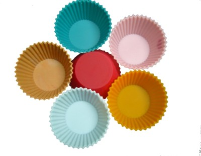 HealthIQ 6 - Cup Cupcake/Muffin Mould(Pack of 6) at flipkart