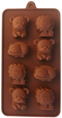Hua You 8 - Cup Chocolate Mould(Pack of 1) at flipkart