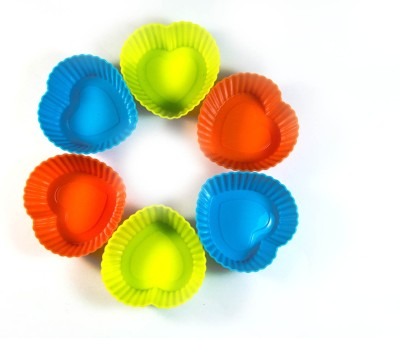 The Queen of Kitchen Each Set= 6 Pieces - Cup Mould(Pack of 6) at flipkart