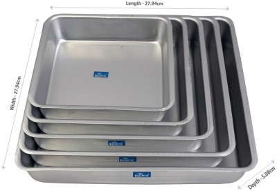 Rolex 5 - Cup Baking/Cookie Tray(Pack of 5) at flipkart