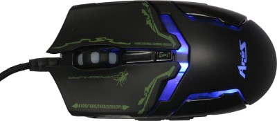 Dragon War ELE-G10 Wired Laser Gaming Mouse(USB, Black) at flipkart