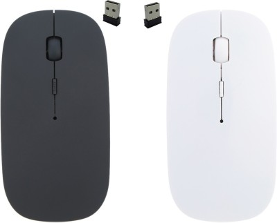 NewveZ Set of 2 2.4Ghz Ultra Slim Wireless Optical Mouse