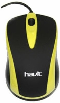 Havit Havit HV-MS675 USB Mouse Wired Optical Mouse(USB, Black) Flipkart