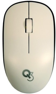 Q3 Techie DZ1 Wireless Optical Gaming Mouse Bluetooth, White