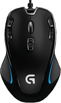 Logitech G300s Wired Optical Gaming Mouse   USB 2.0, Black