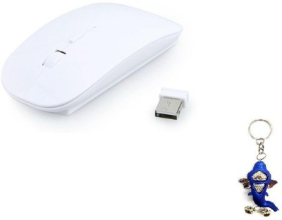 Terabyte Ultra thin 2.4GHz White Wireless Optical Mouse(USB, White) at flipkart