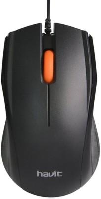Havit Havit HV-MS689 USB Mouse Wired Optical Mouse(USB, Black) Flipkart