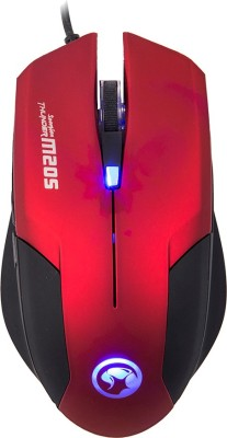 MARVO M205 Wired Optical Gaming Mouse USB, Red MARVO Controllers