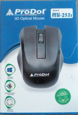 ProDot mu 253s Wired Optical Mouse PS/2, Black  ProDot Mouse