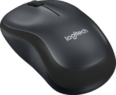 Logitech M220 Silent Wireless Optical Mouse(USB, Grey)