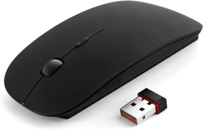 QHMPL QHM262W Wireless Optical Mouse USB, Black