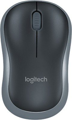Logitech M185 Wireless Optical Mouse USB, Grey