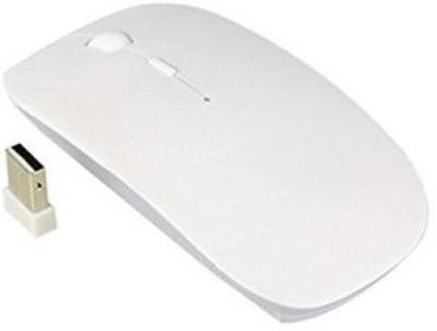 TechGear 2.4Ghz Ultra Slim Wireless Optical Mouse USB, White TechGear Mouse