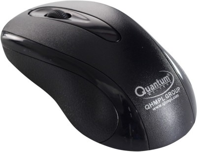 QHMPL QHM232BC Wired Optical Gaming Mouse USB, Black