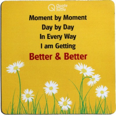 QuoteSutra Mmdd-Mp Mousepad(Yellow)