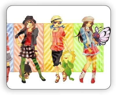 Magic Cases Pokemon GO Characters Design-318 Mousepad(Multicolor)