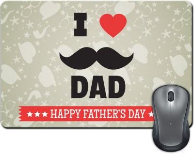 ShopMantra Happy Father's Day  SMFP00002220 Mousepad Multicolor