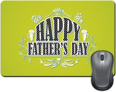 ShopMantra Happy Father's Day  SMFP00002203 Mousepad Multicolor