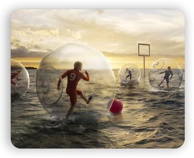 Magic Cases Latest design football water ball sky people stylish mousepad Mousepad Multicolor