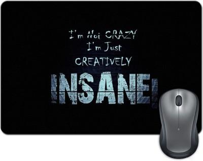 Rangeele Inkers Creatively Insane Mousepad(Multicolor)