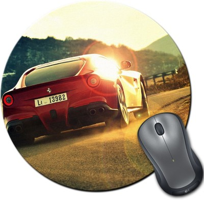 Franklee Ferrari Racing Car Mousepad(Multicolor)  available at flipkart for Rs.175