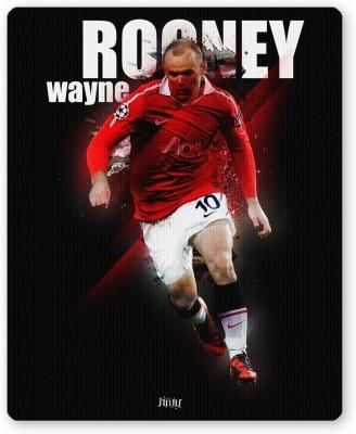 PosterGuy Wayne Rooney Football Fan Art Sports Fan Mousepad(Multicolor)