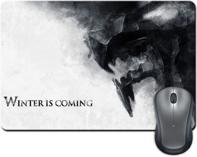 ShopMantra Winter Is Coming Mousepad Multicolor