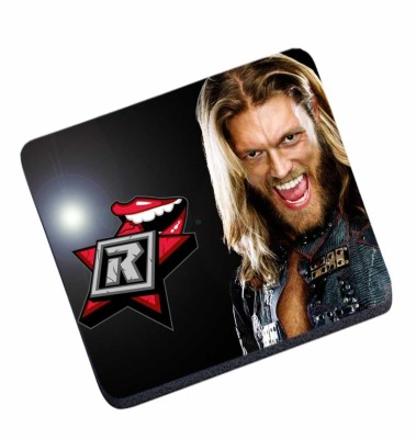 Magic Cases Latest design WWE Edge With Logo stylish mousepad Mousepad(Multicolor) at flipkart