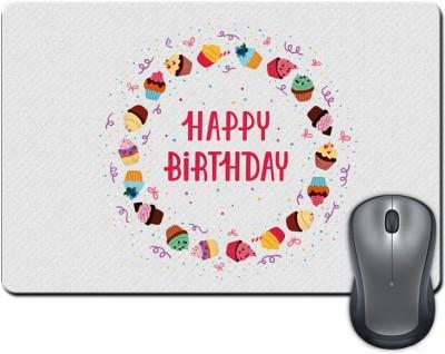 ShopMantra Happy Birthday  SMFP00002259 Mousepad Multicolor