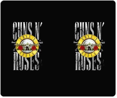Magic Cases smooth cloth & antiskid Material Soft guns n roses Mousepad(Multicolor)