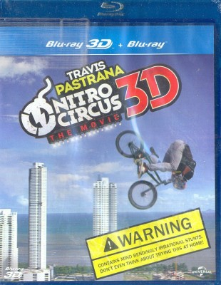 Nitro Circus 3D: The Movie(3D Blu-ray English)