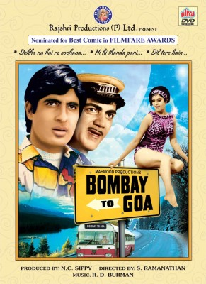 BOMBAY TO GOA Hindi Movie DVD(DVD Hindi)  available at flipkart for Rs.139